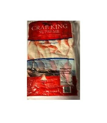 (10 lbs ) Imitation Crab Meat- Chunks - [FROZEN] Frozen Crab Meat