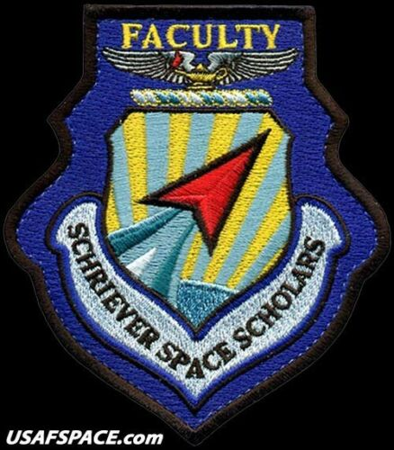 USAF AIR COMMAND and STAFF COLLEGE SCHRIEVER SPACE SCHOLARS - ORIGINAL VEL PATCH