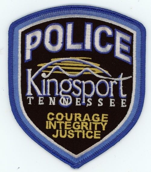 KINGSPORT POLICE TENNESSEE TN PATCH SHERIFF COLORFUL
