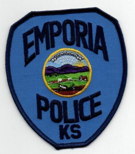 KANSAS KS EMPORIA POLICE NICE PATCH SHERIFF