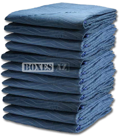 Moving Blankets   12 PC Padded Furniture Pads 72