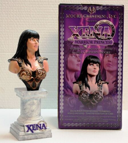 XENA - LIMITED EDITION COLD CAST PORCELAIN SCULPTURE STATUE MOORE CREATIONS #647