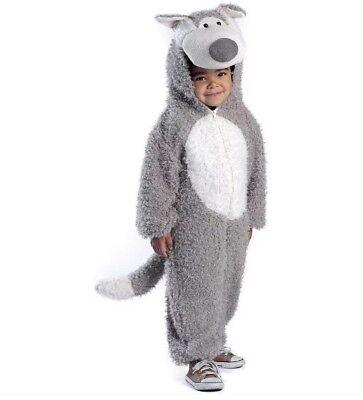 Princess Paradise Big Bad Wolf Gray Plush Deluxe Costume Child Kids Size 8 - Child Big Bad Wolf Costume