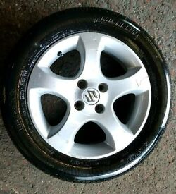 SUZUKI SWIFT ALLOY WITH TYRE 185/60/15