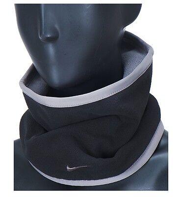 [Nike] Football Reversible Neck warmer Soccer Winter Sports Black/Grey