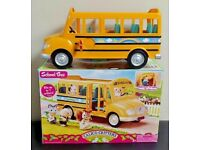 SYLVANIAN FAMILIES CALICO CRITTERS SCHOOL BUS REPLACEMENT TEAL GREEN SEAT CHAIR