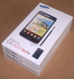 SAMSUNG GALAXY NOTE WHITE | BLACK SEALED SIM FREE UNLOCKED BOXED WITH ALL ACCESSORIES- REFURBISHED