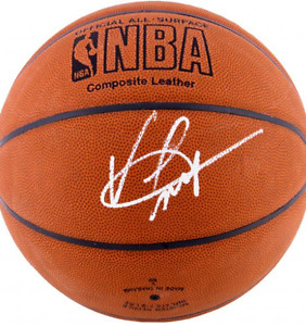 Vince Carter signed ball with PROOF of authentication