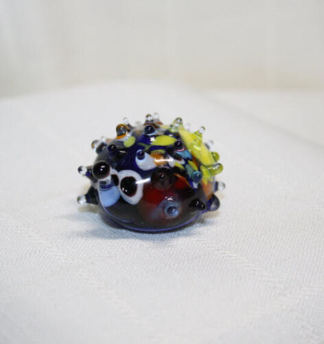 Art Blown Glass Murano Figurine Glass Figurine Hedgehog #3