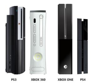 XBOX ONE PS4 PS3 Wii 360 PS2 REPAIR GAMES JEUX REPARATION PARTS