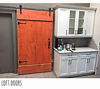 LOFT DOORS - Custom Sliding Reclaimed Barn Board Doors