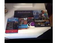 German language speaking writing lesson language books and cd's