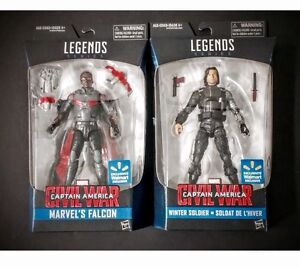 Marvel legends exclusive Falcon and Bucky
