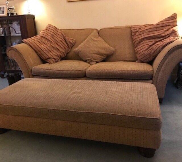 Sofa/ large footstool