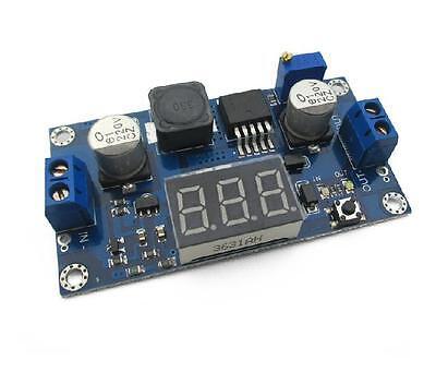 Dc-dc 4.5-32v To 5-52v Xl6009 Boost Step-up Module Power Supply Led Voltmeter Ne