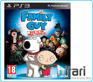 Family Guy Back To The Multiverse Game PS3 BRAND +