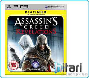Assasins Creed Revelations PS3 PlayStation 3 BRAND NEW SEALED +FREE UK Delivery