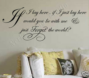 WALL-ART-QUOTE-sticker-IF-I-LAY-HERE-SNOW-PATROL-LYRICS-XXL-SIZE-N37