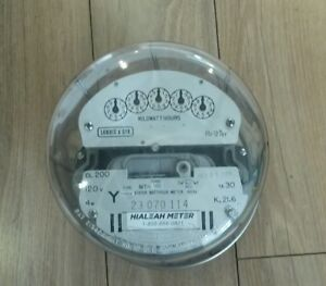 Check Electrical Meter - 3 Phase 200A