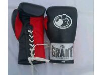 New grant leather boxing gloves available in all oz and all colours