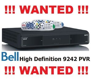 LOOKING FOR BELL / TELUS SATELLITE RECEIVERS