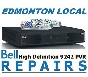EDMONTON LOCAL BELL / TELUS SATELLITE RECEIVER REPAIR PVR ...