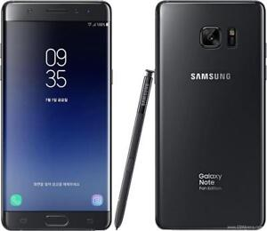 Samsung Galaxy Note FE SM-N935F/DS DUAL SIM 64Gb Black - Factory Unlocked. Brand New!