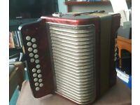 Accordion concertina B/C HOHNER