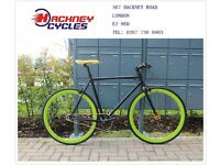 Brand new single speed fixed gear fixie bike/ road bike/ bicycles + 1year warranty & free service 7h