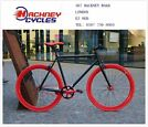 Brand new single speed fixed gear fixie bike/ road bike/ bicycles + 1year warranty & free service hy