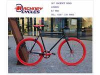 Brand new single speed fixed gear fixie bike/ road bike/ bicycles + 1year warranty & service 5ba