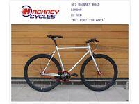 Brand new single speed fixed gear fixie bike/ road bike/ bicycles + 1year warranty & service 45