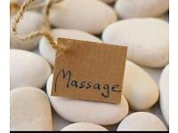 Male mobile massage therapist