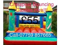 Bouncy castle hire from £40