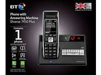 BT Diverse 7450 cordless phone (3 available)