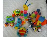 4 bundle of baby toys