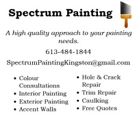 Spectrum Painting - Touch-ups and Transformations
