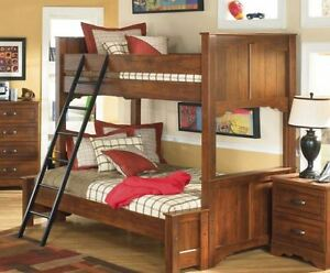 Bunk Beds:  Double + Single