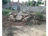Concrete rubble