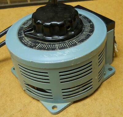 Powerstat Variable Autotransformer 236b Transformer Bp57515 120240