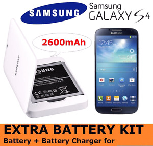 Samsung galaxy s4 Kit Extra battery  pour smartphone avec charge