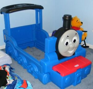 little tikes thomas the train bed. AVAILABLE