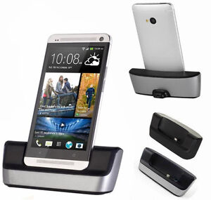 Desktop-Phone-Sync-Dock-Cradle-Mount-Holder-Charger-for-HTC-ONE-M7-ND