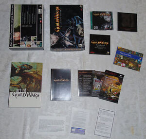 Guild Wars Collector's Edition PC Video Game in Box 2000/XP