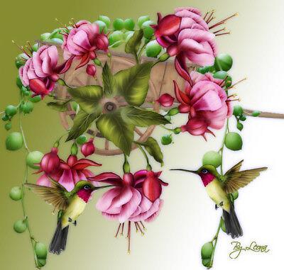 Damenbluse / Tunika bunt gemustert Gr. 50 (Neu)