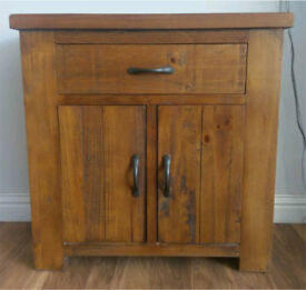 Solid wood rustic oak unit/cabinet
