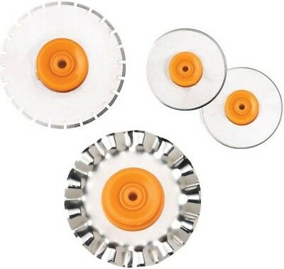 Rotary Trimmer Blade - Fiskars 28mm Rotary Paper Trimmer Refill Replacement Blade SELECT YOUR DESIGN!