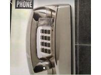 Chrome wall phone