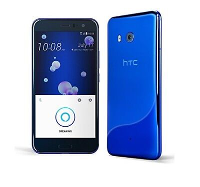 HTC U11 Factory GSM Unlocked 64GB AT&T T-Mobile -Amazon Alexa Smartphone - BLUE