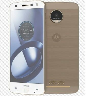 Motorola XT1650 Moto Z Droid Verizon Unlocked 32GB Smartphone Cell Phone GOLD